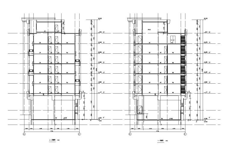 浙江中央公馆住宅立面施工图设计 (8)