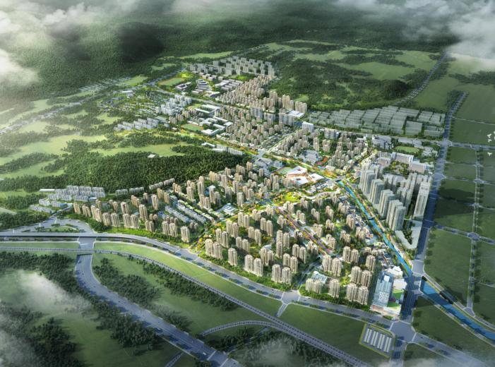石家庄街区拆迁改造旧城更新统筹规划设计