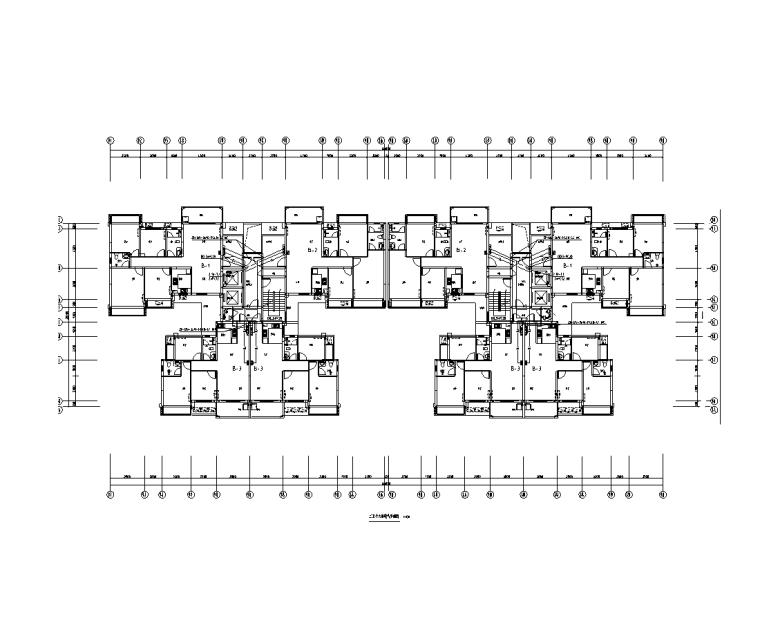 广西18层住宅楼电气施工图(含水暖2018)