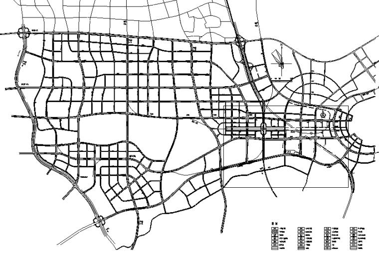 [长沙]50km/h城市主干路道路施工图设计