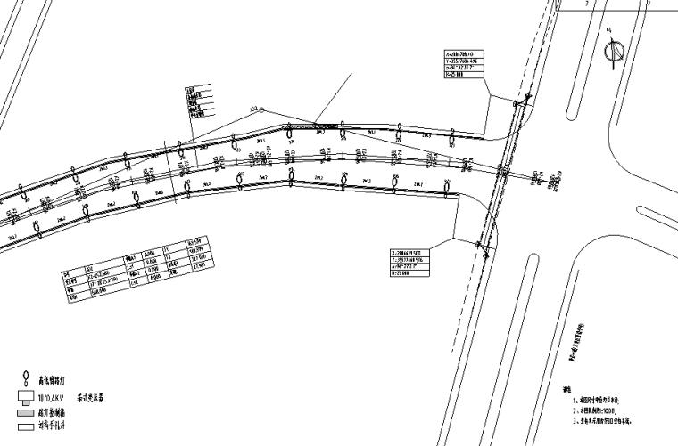 [贵州]城市外环双向6车道照明工程设计图