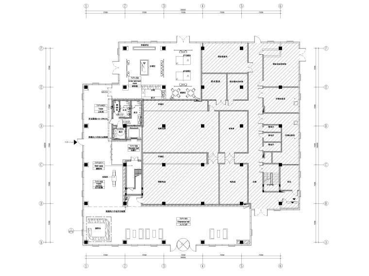 [湖南]芙蓉云数据中心项目办公厂房设计图纸