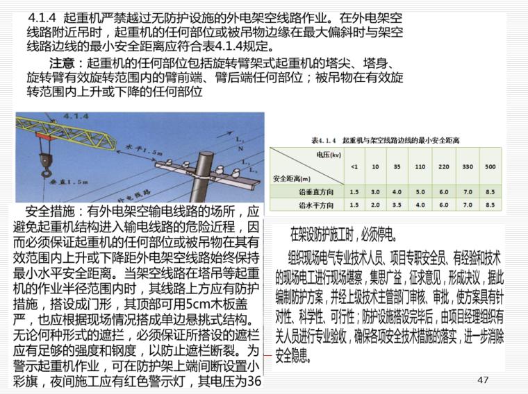 施工临时用电安全技术与管理培训PPT(206页)-06 起重机