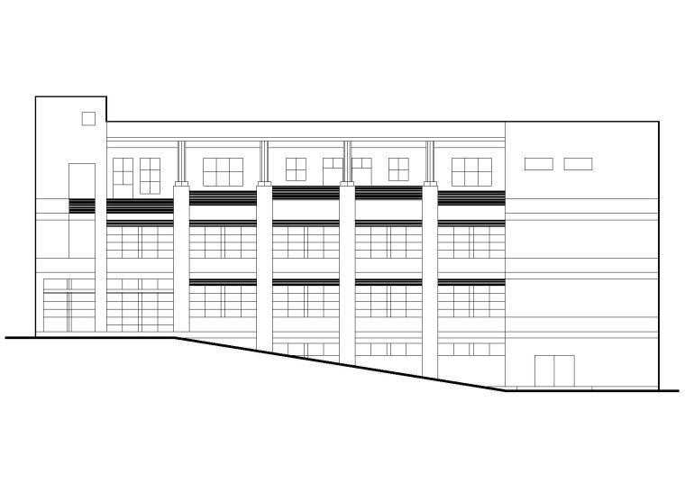 一键下载_10套食堂设计建筑施工图