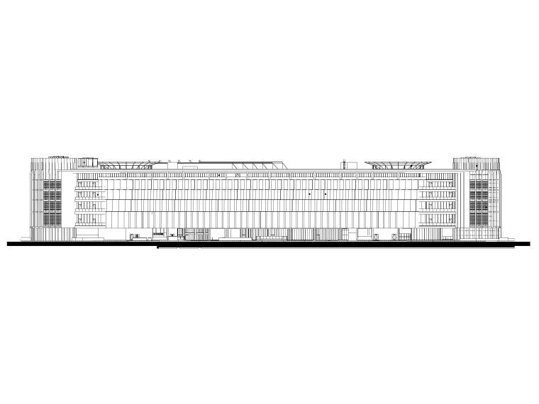 交通换乘枢纽综合开发项目图纸建筑含文件