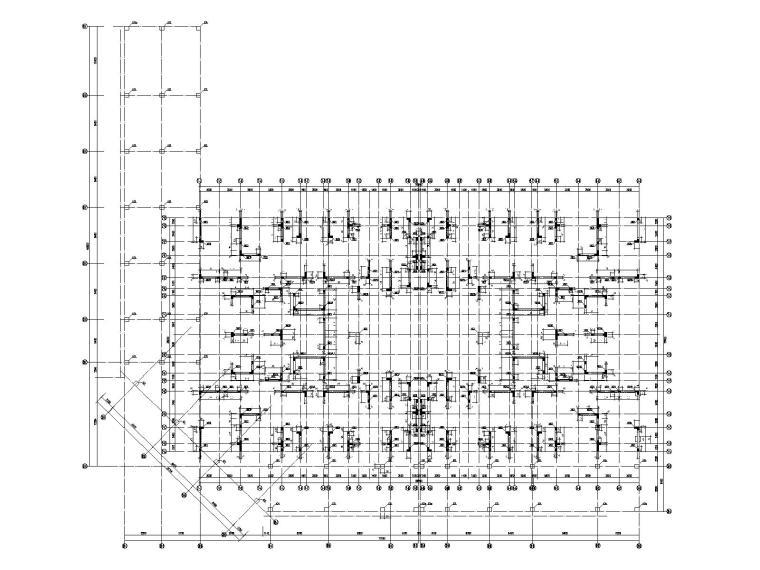 [佛山]33层剪力墙结构住宅楼结构施工图2018