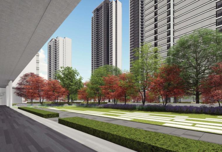 [湖北]知名企业现代住宅景观方案深化设计