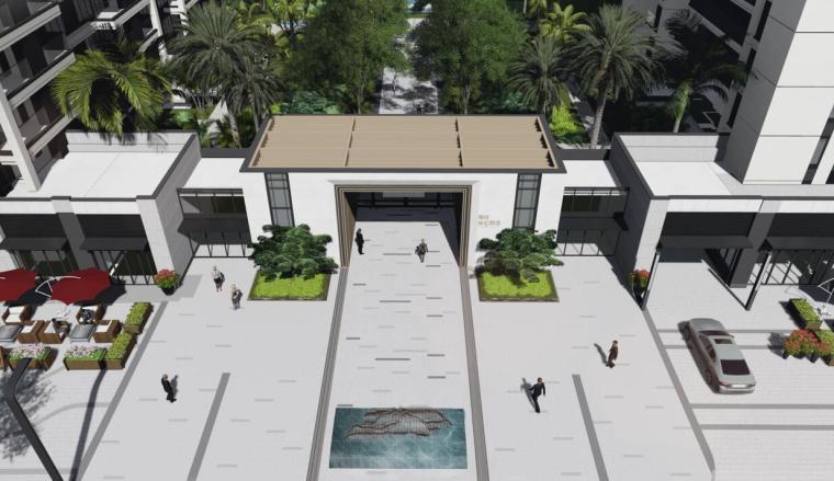 [海南]新中式生态软件园景观方案设计