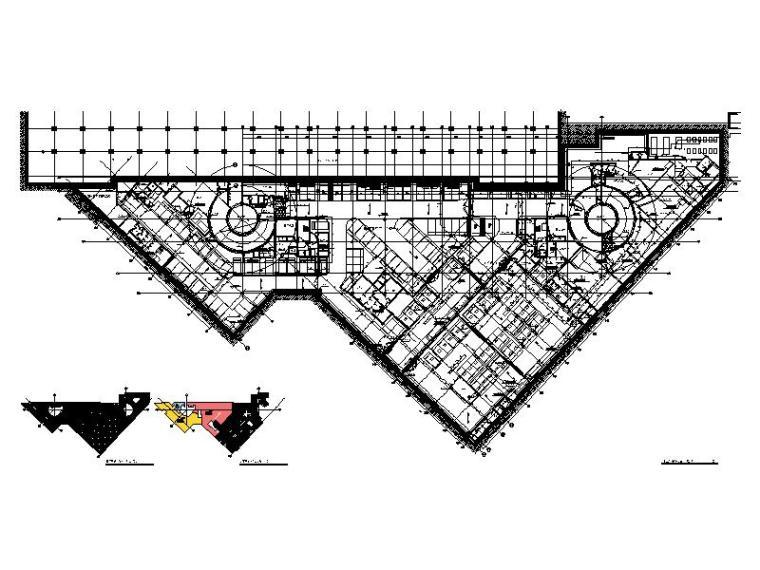 地下三层消防平面图(地铁B2F)