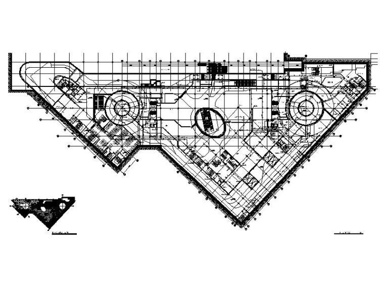 地下一层消防平面图