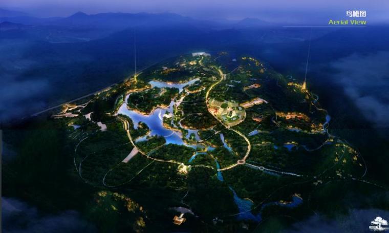 [江西]上饶红豆杉生态风情小镇景观规划方案