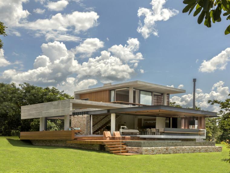 巴西混凝土房屋