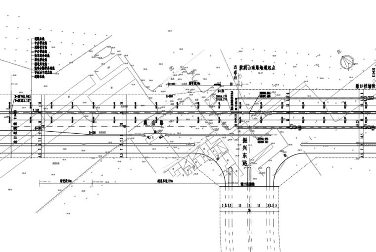 [郑州]绕城高速快速通道道路工程施工图设计