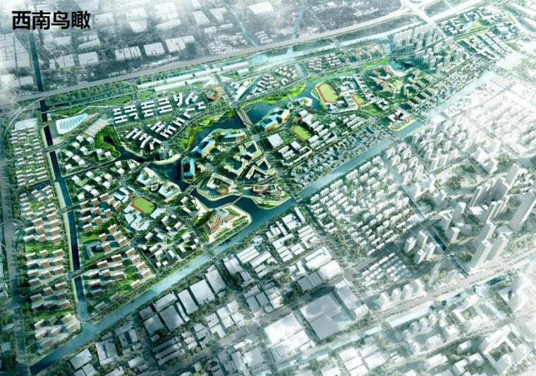 [浙江]杭州梦想小镇景观规划方案