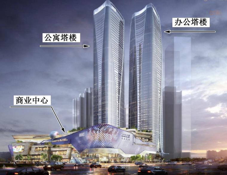 某300m超高层办公塔楼的结构设计
