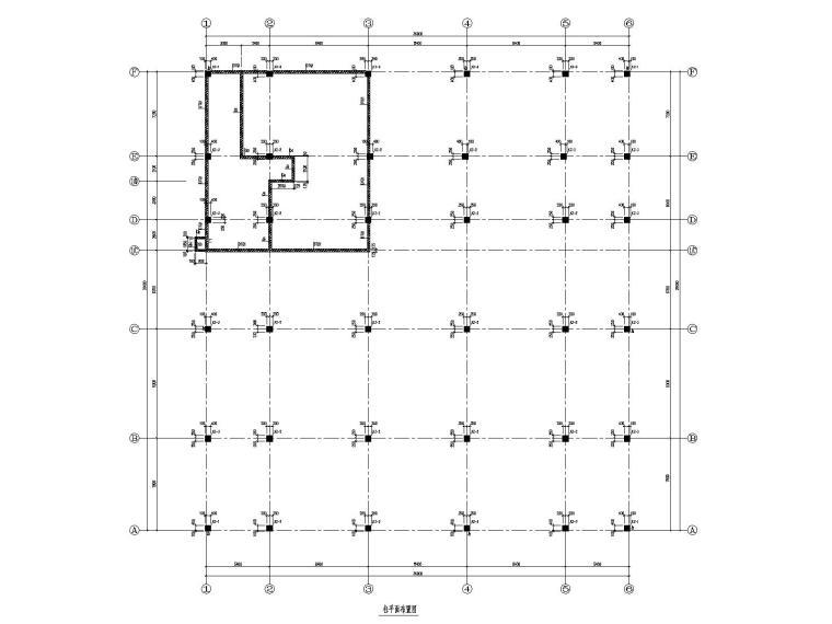 2层框架结构餐厅结施图纸2016(含水暖电建)
