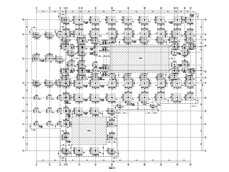 5层框架结构教学楼结构施工图(含水暖电建)