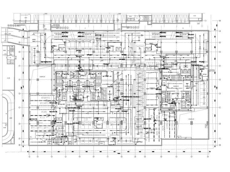 [北京]CBD区25层办公楼电气施工图