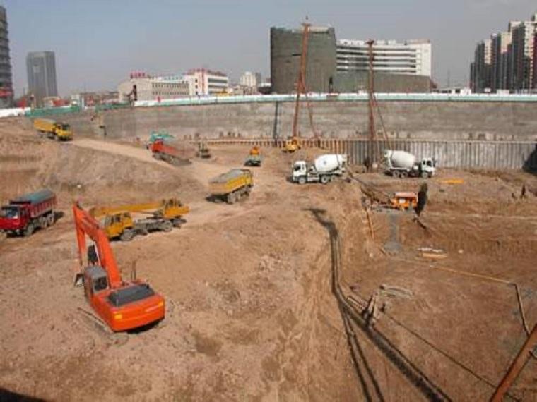 深基坑土方开挖支护排水及监测施工方案