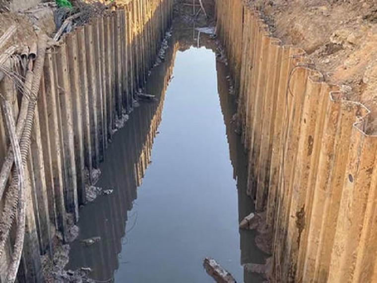 排水工程基坑开挖支护施工方案