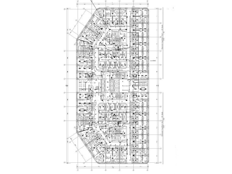[海南]13层国际医院电气施工图