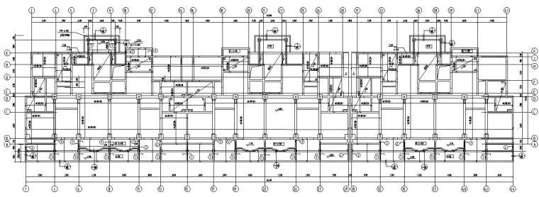 基础布置图                           立即下载       某八层底框图片