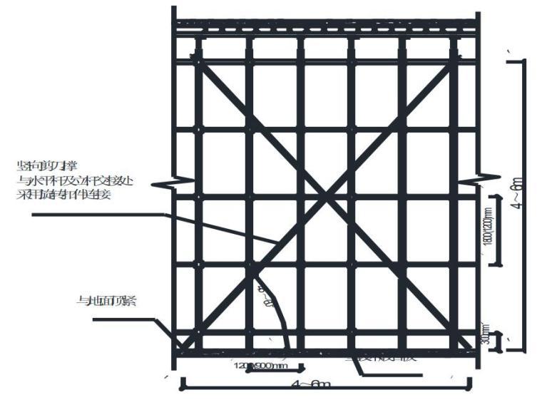 超高层框筒结构高大模板专项施工方案