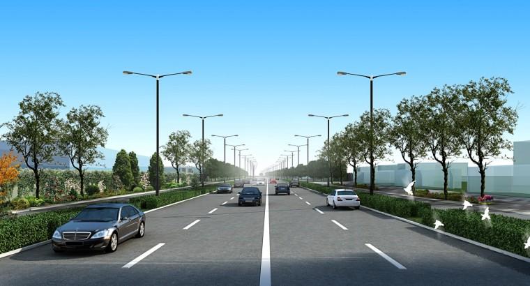 道路照明系统及景观概念方案设计