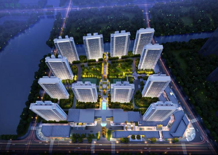 [上海]闵行现代风格高层租赁房建筑方案