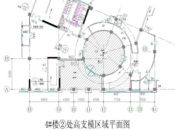 房屋建筑项目工程高支模施工方案