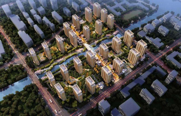 [上海]高端租赁住宅建筑概念方案文本