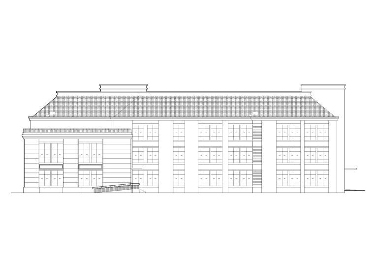 鹿鸣湖畔9班框架结构幼儿园全套施工图