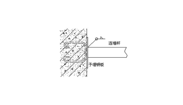 06 连墙件对接焊缝连接示意图