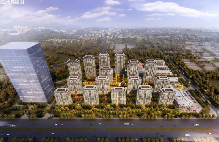 [安徽]合肥新古典风格高层住宅规划方案