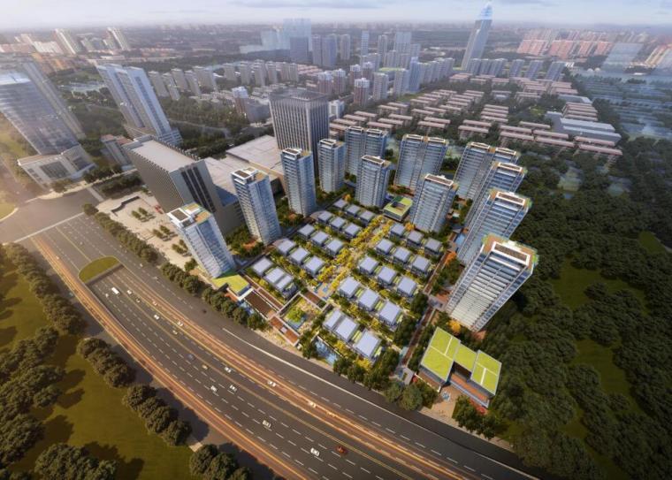 [浙江]杭州现代别墅+高层住宅建筑方案