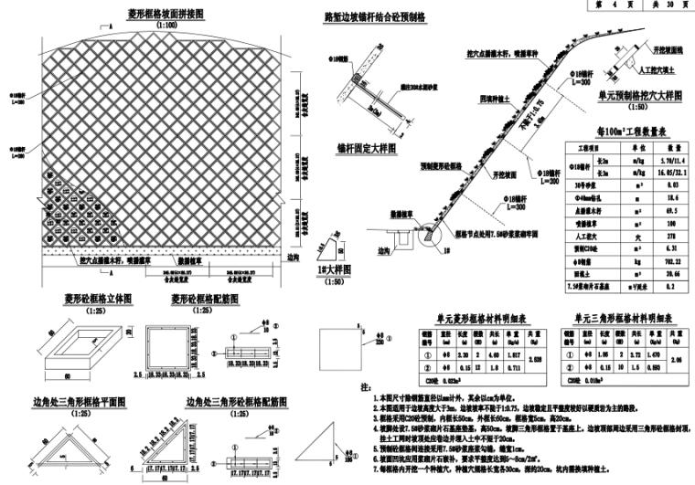 路基防护工程设计图