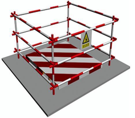 剪力墙结构安全文明施工专项方案-防护效果图