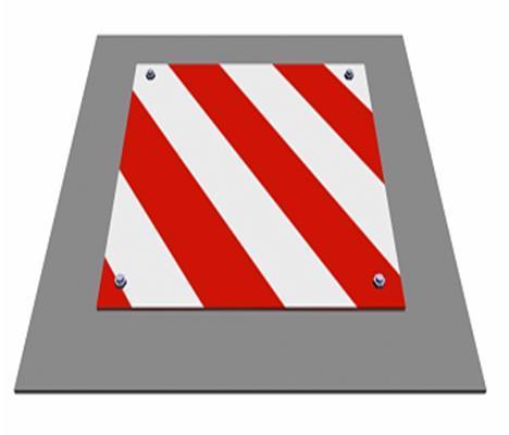 剪力墙结构安全文明施工专项方案-边长在500~1500mm的水平洞口防护效果图