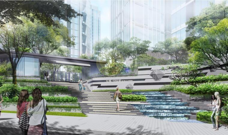 [广东]深圳现代风格高端住宅景观概念设计