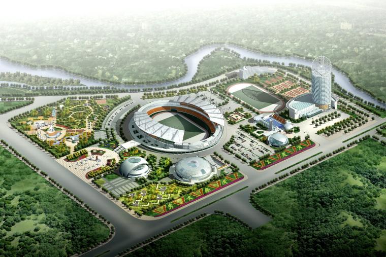 [江西]新余体育公园广场景观设计方案