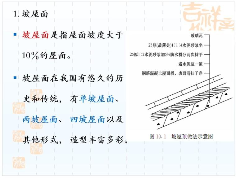 屋面及防水保温隔热工程计量与计价讲义