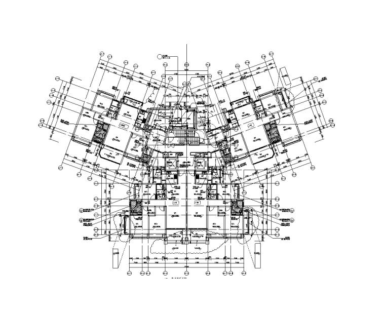 小区深化图纸资料下载-大型住宅及配套商业智能化深化图纸(2020)