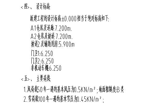 [天津]产业园区结构设计总说明2019