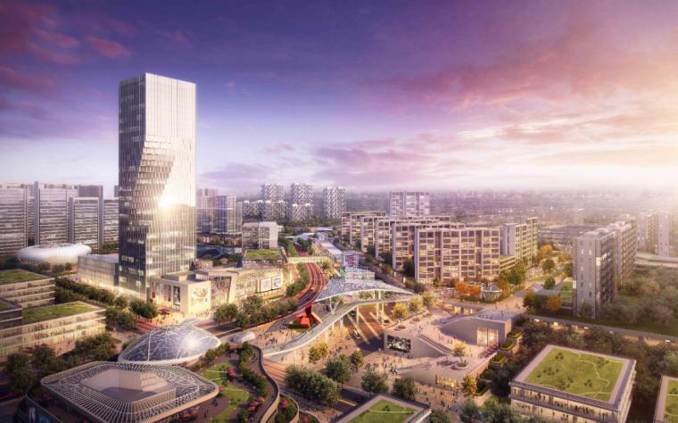 杭州仓前车辆段上盖及周边区域设计 / AECOM