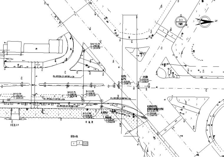 电力管道平面图