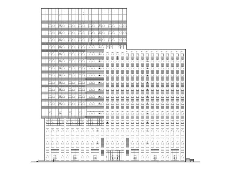 融媒体产业发展基地会展中心及办公楼图纸