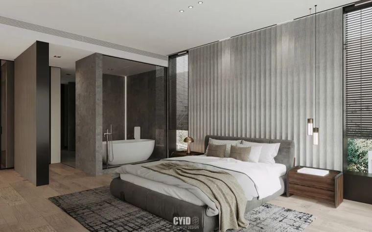 800㎡现代风格别墅设计,大宅的极致简约_7