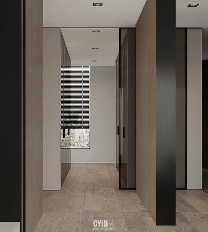 800㎡现代风格别墅设计,大宅的极致简约_9