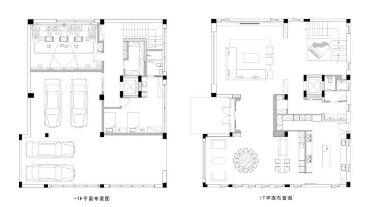 800㎡现代风格别墅设计,大宅的极致简约_16