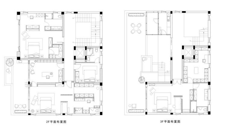 800㎡现代风格别墅设计,大宅的极致简约_17